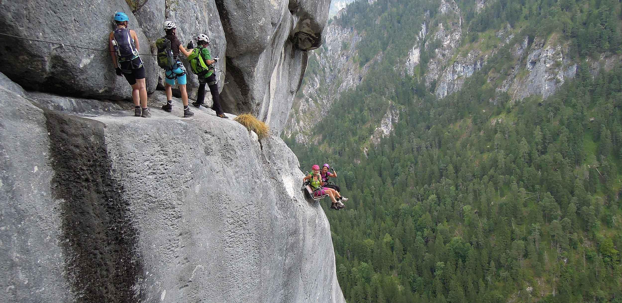 Klettersteigkurse-Grundkurse