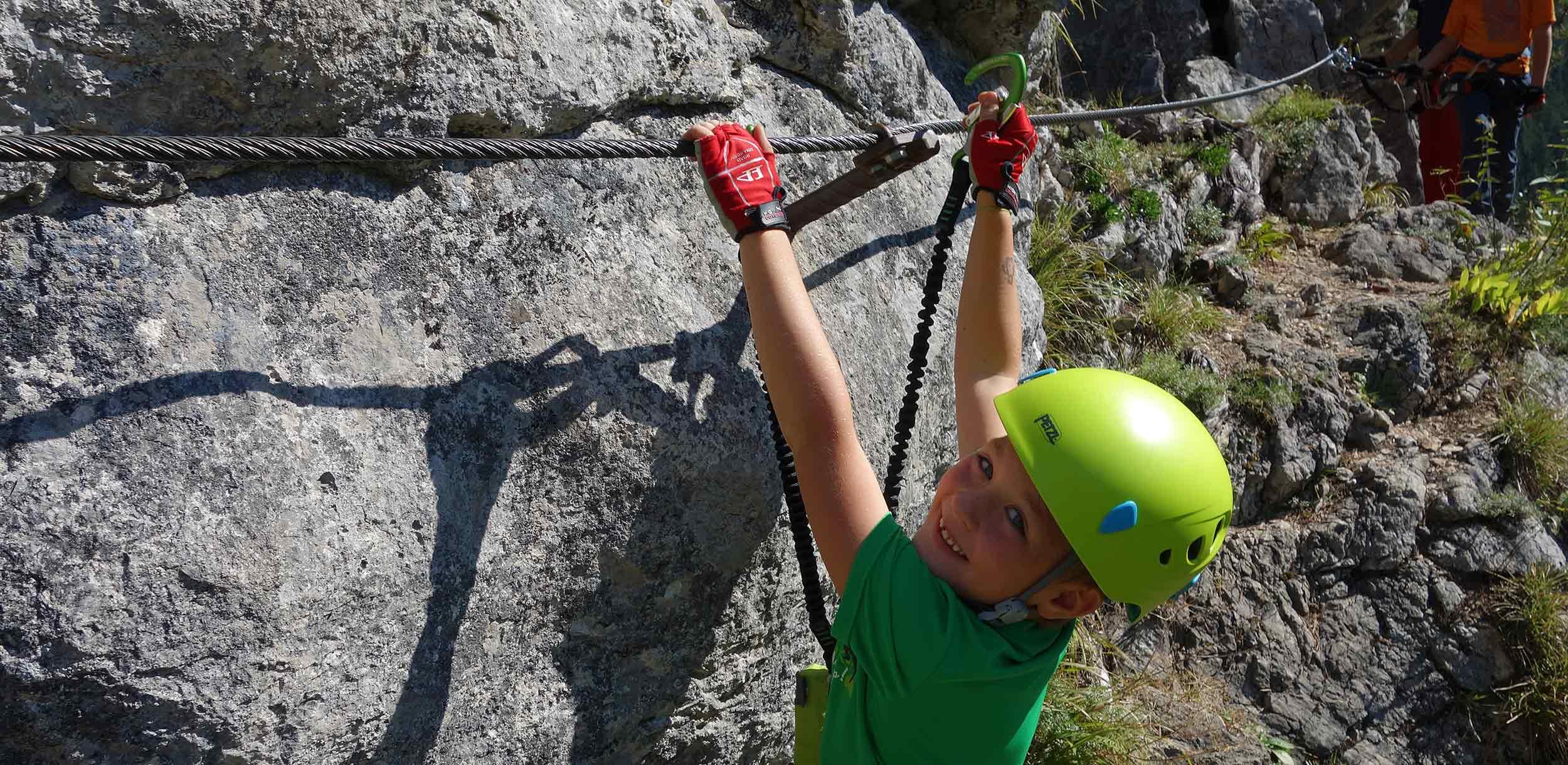 Klettersteigkurse-Anfängerkurse