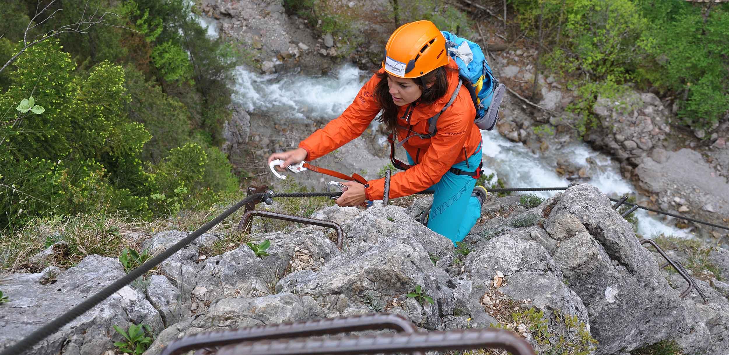 Klettersteigkurse